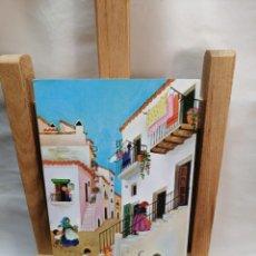 Postales: POSTAL IBIZA (BALEARES) VILA CALLE TIPICA CIRCULADA. Lote 205792817