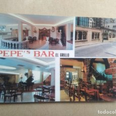 Postales: POSTAL PEPES BAR EL GRILLO SAN AGUSTIN, PALMA DE MALLORCA. Lote 205843911