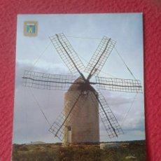 Postales: POST CARD BALEARIC ISLANDS ISLA DE FORMENTERA Nº 20 ISLA DE LA PAZ MOLINO MOULIN MILL, SPAIN...VER... Lote 205898000