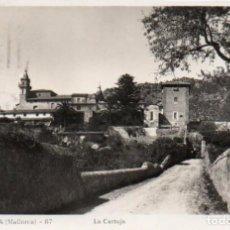 Postales: POSTAL DE MALLORCA - VALLDEMOSA - LA CARTUJA. Lote 205898018