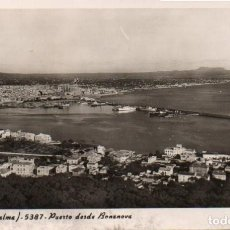 Postales: POSTAL DE MALLORCA - PALMA - PUERTO DESDE BONANOVA. Lote 205898246