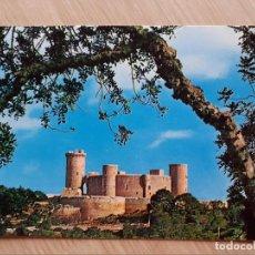 Postales: TARJETA POSTAL - MALLORCA BALEARES - PALMA CASTILLO DE BELLVER. Lote 205900336