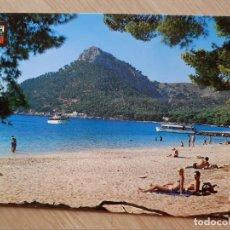 Postales: TARJETA POSTAL - MALLORCA BALEARES - FORMENTOR VISTA PARCIAL Y EMBARCADERO. Lote 205900471
