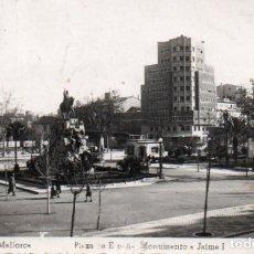 Postales: POSTAL DE PALMA DE MALLORCA - PLAZA DE ESPAÑA - MONUMENTO A JAIME I. Lote 205901818