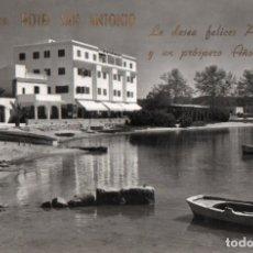 Postales: POSTAL DE IBIZA - BALEARES - SAN ANTONIO - HOTEL SAN ANTONIO. Lote 205902656
