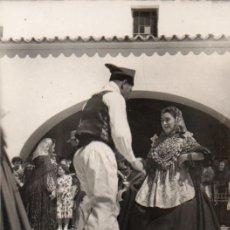 Postales: POSTAL DE IBIZA - BALEARES - SAN ANTONIO - BAILE TÍPICO LA LLARGA. Lote 205919465