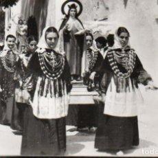 Postales: POSTAL DE IBIZA - BALEARES - PROCESIÓN RELIGIOSA EN JESÚS. Lote 205934936