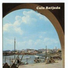 Postales: MALLORCA CALA RATJADA DETALLE DE SU PUERTO 1964 PLANAS Nº2109. Lote 206456795