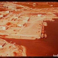 Postales: FOTOGRAFIA DE IBIZA, MUELLE PESQUERO, AÑO 1976, MIDE 24 X 18 CMS.. Lote 208583061