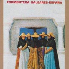 Cartoline: FORMENTERA, POSTAL CARTELES TURÍSTICOS DE ESPAÑA - EDITORIAL FENICIA - S/C. Lote 208695957