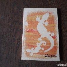 Postales: POSTAL DE MADERA DE IBIZA. Lote 208802680