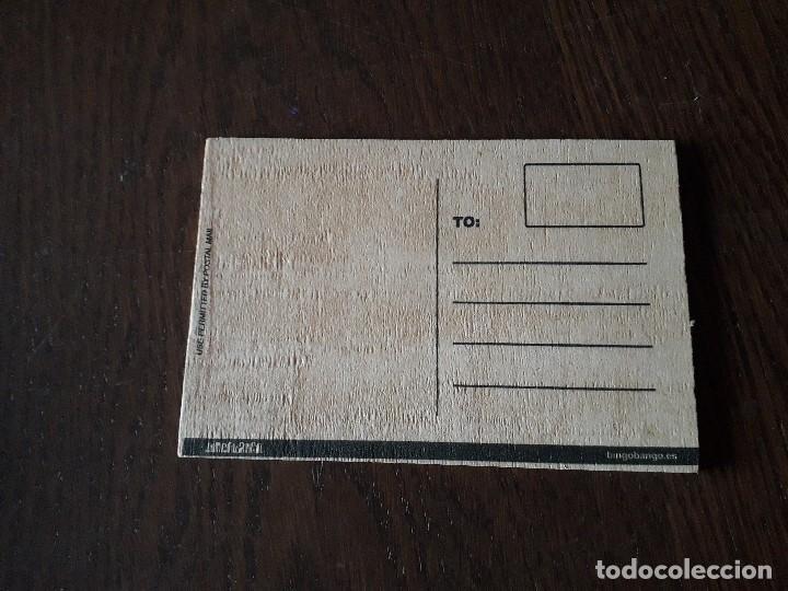 Postales: postal de madera de Ibiza - Foto 2 - 208802680