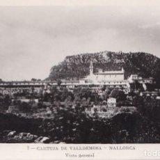 Postales: BONITA POSTAL DE LA CARTUJA DE VALLDEMOSA - MALLORCA. Lote 208807731