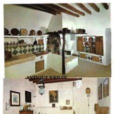 Cartes Postales: MALLORCA .- SENCELLES .- CONVENT DE LA CARITAT .- 2 POSTALES EDICION CASA PLANAS. Lote 209166042