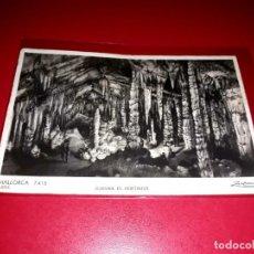 """Postales: POSTAL MALLORCA """" ARTÁ CUEVAS EL VESTIBULO """" ESCRITA Y SELLADA. Lote 209263220"""