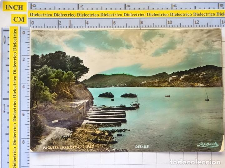 POSTAL DE MALLORCA. AÑOS 30 50. PAGUERA DETALLE 947 ZERKOWITZ. 1001 (Postales - España - Baleares Moderna (desde 1.940))