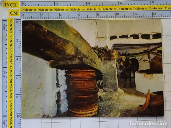 POSTAL DE MALLORCA. AÑO 1963. ALMAZARA TÍPICA PRODUCCIÓN ACEITE OLIVA. 3140 CAMPAÑA. 1017 (Postales - España - Baleares Moderna (desde 1.940))