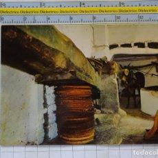 Postales: POSTAL DE MALLORCA. AÑO 1963. ALMAZARA TÍPICA PRODUCCIÓN ACEITE OLIVA. 3140 CAMPAÑA. 1017. Lote 210306845