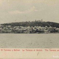 Postales: PALMA DE MALLORCA. EL TERRENO Y BELLVER. ED. A. M. Nº 9. CIRCULADA 1907. Lote 210440286
