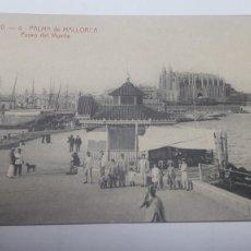 Postales: POSTAL J.V. 4 PALMA DE MALLORCA PASEO DEL MUELLE..... Lote 210544200
