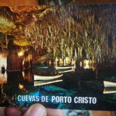 Postales: POSTAL MALLORCA PORTO CRISTO VISTA DE UNA DE LAS SALAS DE LAS CUEVAS N 3090 ESCUDO DE ORO BALEARES S. Lote 210567080
