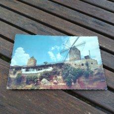 Postales: POSTAL PALMA DE MALLORCA EL JONQUET ANTIGUOS MOLINOS. Lote 210582218