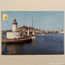 Postales: IBIZA, ISLA BLANCA, VISTA GENERAL Nº 117 SUBIRATS, FISA ESCUDO DE ORO. Lote 210590508