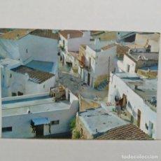 Postales: IBIZA (BALEARES) ESPAÑA, CALLE TÍPICA SAVIR EXCLUSIVAS CASA FIGUERETAS. Lote 210592425