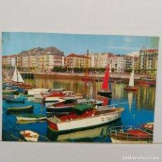 Postales: SANTANDER, BALANDROS EN PUERTOCHICO, EDICIONES ARRIBAS. Lote 210594556