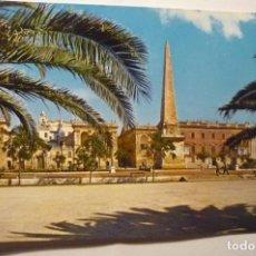 Postales: POSTAL MENORCA CIUDADELA PL.GENERALISIMO. Lote 210598782