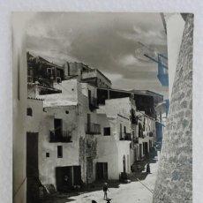Postales: POSTAL DE IBIZA (BALEARES) UN RINCÓN DE PLAÇA DE VILA. FOTO VIÑETS Nº40. Lote 210696196
