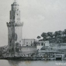 Postales: PALMA DE MALLORCA-PORTO PI-TORRE DE SEÑALES Y FARO-POSTAL ANTIGUA-(72.632). Lote 210788565