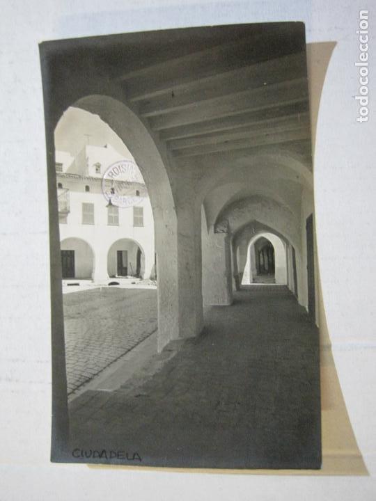 CIUDADELA-SES VOLTES-ARCHIVO ROISIN-FOTOGRAFICA-POSTAL ANTIGUA-(72.802) (Postales - España - Baleares Antigua (hasta 1939))