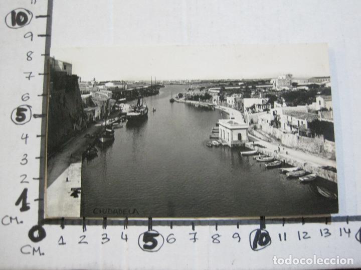 Postales: CIUDADELA-VISTA GENERAL PUERTO-ARCHIVO ROISIN-FOTOGRAFICA-POSTAL ANTIGUA-(72.803) - Foto 4 - 211432221