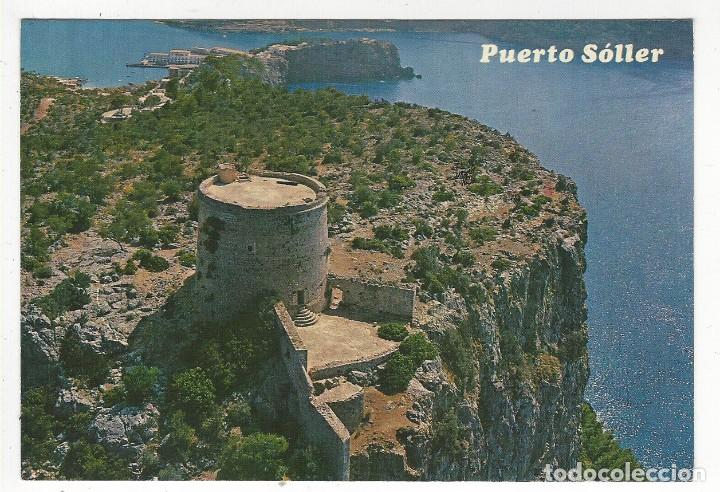 PUERTO SOLLER.- LA TORRE PICADA Y ENTRADA AL PUERTO (Postales - España - Baleares Moderna (desde 1.940))