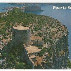 Postales: PUERTO SOLLER.- LA TORRE PICADA Y ENTRADA AL PUERTO. Lote 211671075