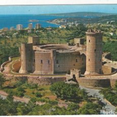 Postales: PALMA.- CASTILLO DE BELLVER. VISTA AEREA.. Lote 211671653