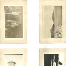 Postales: C3.- MALLORCA - ILLES BALEARS - BALEARES - LOTE DE 4 POSTALES FOTOGRAFICAS. Lote 211675845