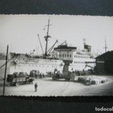 Postales: PALMA DE MALLORCA-BARCO CIUDAD DE PALMA-FOTOGRAFICA-POSTAL ANTIGUA-(72.906). Lote 211726218