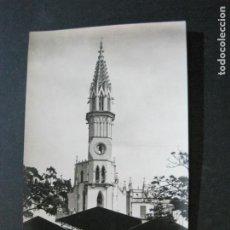Postales: MANACOR-MERCADO Y TORRE DE LA IGLESIA-FOTOGRAFICA-POSTAL ANTIGUA-(72.908). Lote 211726303