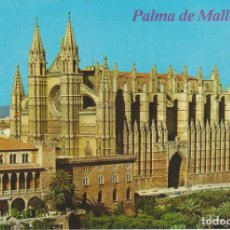 Postales: (1004) PALMA DE MALLORCA. LA CATEDRAL. VISTA AEREA ... SIN CIRCULAR. Lote 212017185
