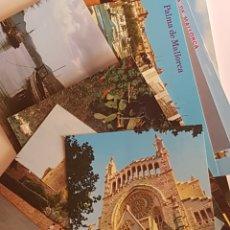 Postales: 12 POSTALES PALMA DE MALLORCA CALA, BASÍLICA, CASTILLO .... Lote 212504816