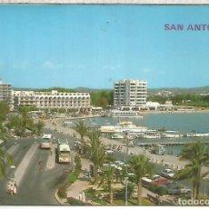 Cartes Postales: BALEARES IBIZA SAN ANTONIO ESCRITA. Lote 212887412