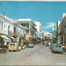 Cartes Postales: BALEARES IBIZA ESCRITA SAN ANTONIO ABAD CITROEN 2 CV. Lote 212890293