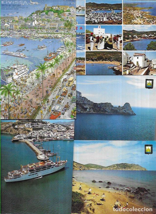 65 POSTALES * IBIZA (EIVISSA ) * ( LOTE 19 ) (Postales - España - Baleares Moderna (desde 1.940))