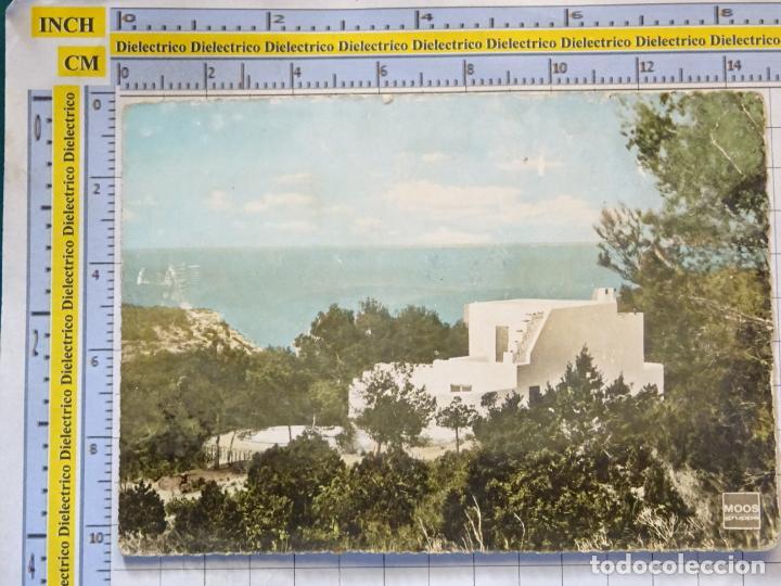 POSTAL DE IBIZA. AÑOS 50 60. BUNGALOWS EUROTERRA. 1291 (Postales - España - Baleares Moderna (desde 1.940))