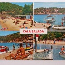 Cartes Postales: EIVISSA / IBIZA - SANT ANTONI DE PORTMANY - CALA SALADA - LMX - IB4. Lote 213803558