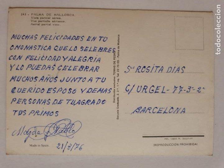 Postales: MALLORCA - PALMA - VISTA PARCIAL AÉREA - MLL1 - Foto 2 - 214145161
