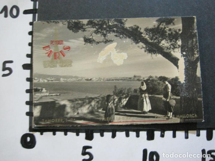 Postales: PALMA DE MALLORCA-PUERTO-PUBLICIDAD PENSION PARIS-POSTAL ANTIGUA-(73.408) - Foto 5 - 214752947
