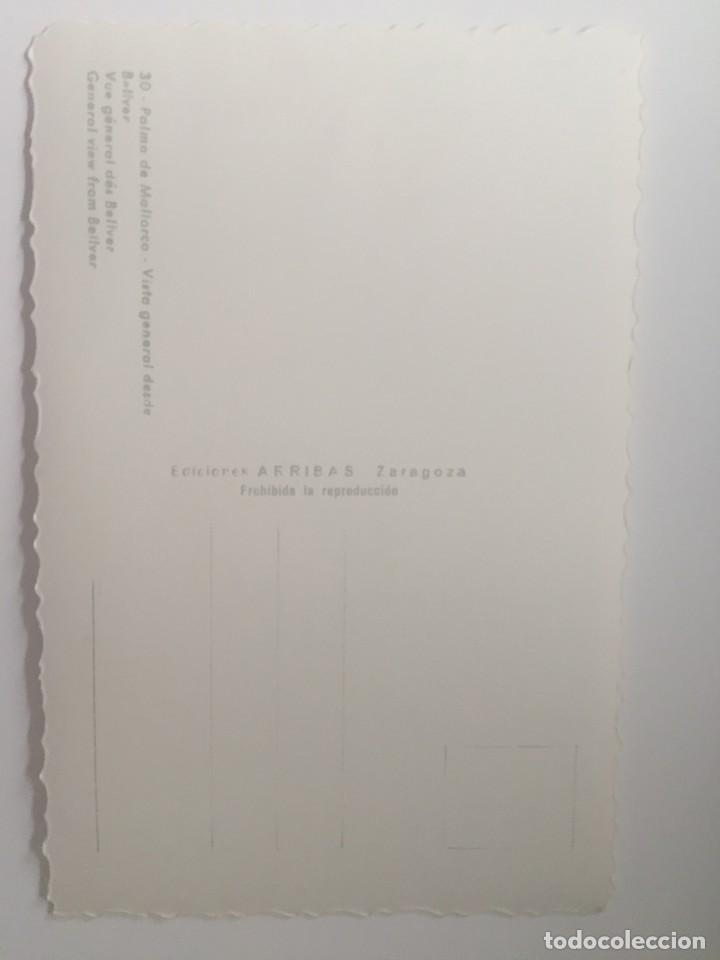 Postales: PALMA DE MALLORCA - VISTA GENERAL DESDE BELLVER - Nº 30 ED. ARRIBAS - Foto 2 - 215548051